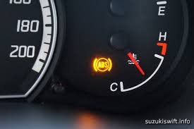 what does it mean when the abs light is on living with a suzuki swift i have a broken abs sensor cog