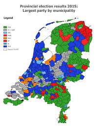Early Election Results Map by Netherlands World Elections