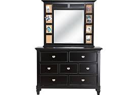 Bedroom Dresser Mirror Belmar Black Dresser Mirror Set Dresser Mirror Sets Black