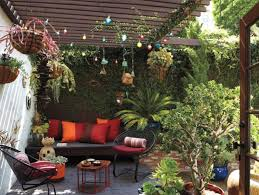 perfect mexican patio decor for small home interior ideas with
