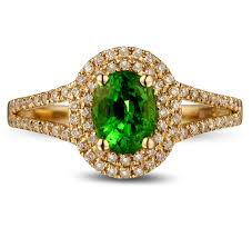 gold emerald engagement rings unique 1 carat emerald and halo engagement ring in yellow