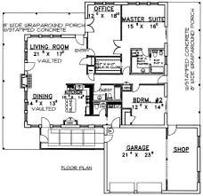 country style house plan 3 beds 2 00 baths 2008 sq ft plan 117 266