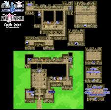 castle green floor plan image ffii castle deist map png final fantasy wiki fandom