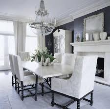 Black Chandelier Dining Room Room
