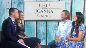 chip and joanna gaines reveal the cover of chip u0027s new book live on
