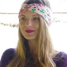 headband floral turban twisted headband black floral print twist turban headbands