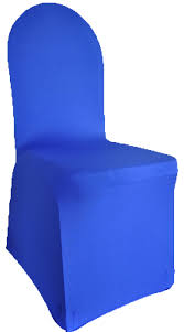 spandex chair covers rental spandex chair cover royal blue gala rentals