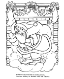 classic holiday stories coloring pages classic kids bedtime