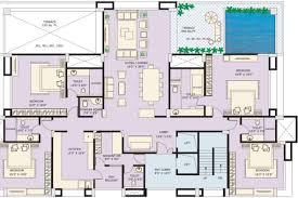 Sq Ft 4100 Sq Ft 4 Bhk 5t Apartment For Sale In Marvel Realtors And