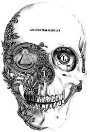 money skull arquitetura pinterest skull drawings tattoo