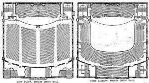 massey hall floor plan a brief history of toronto s iconic massey hall