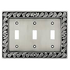 light switch covers amazon decorative triple light switch covers amazon com