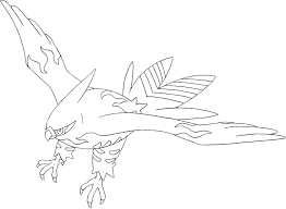 coloring pages pokemon talonflame drawings pokemon