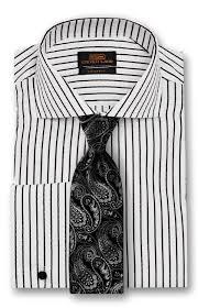 dress shirt ta1737 wide spread collar french cuff 100
