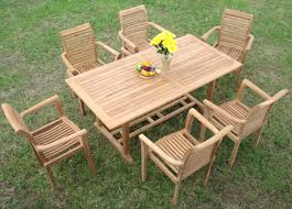 patio ideas round wooden outdoor table nz round wood outdoor