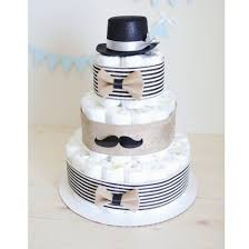 mustache diaper cake for baby boy little man baby shower