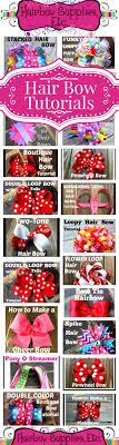 hair bow supplies 50 free hair bow tutorials hair bow made easy