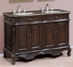 50 inch double sink vanity brown and grey marble top within 48 inch double sink vanity the