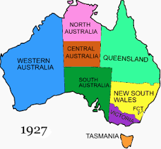 territories of australia map australia
