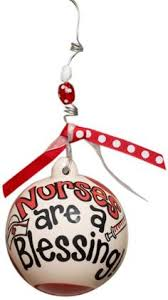 personalized nurse christmas ornament bear by christmaskeeper
