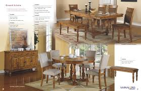 low prices u2022 winners only grand estate dining tables chairs