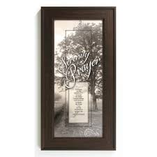 serenity prayer picture frame serenity prayer framed wall free shipping