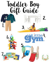 toddler boy gift guide pretty as a