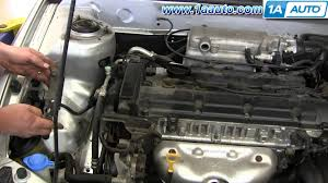 how to install replace timing chain cover hyundai elantra youtube