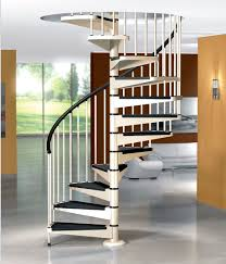spiral staircase metal steps metal frame without risers
