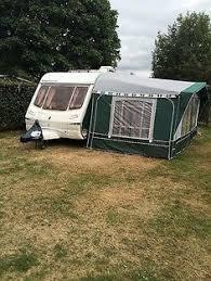 5 Berth Caravan With Awning Casita Folding Caravan Very Retro U0026 In Very Good Condition