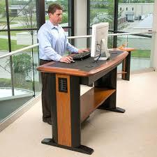 Office Chair For Standing Desk Standing Office Desk Furniture U2013 Adammayfield Co