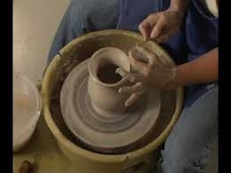 throwing a pot danielle mcdaniel the clay lady throwing a pot on the potters