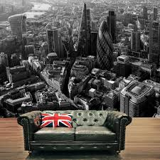 city skyline black white photo mural wall decor rainbow r227 london city skyline black white photo mural wall decor rainbow r227