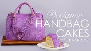 cake purse designer handbag cake tutorial