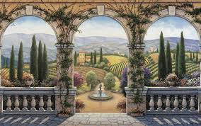 italian wall mural choice image home wall decoration ideas