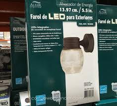 altair outdoor led coach light costco altair lighting led outdoor lantern installation lilianduval