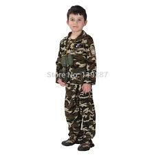 Halloween Military Costumes Aliexpress Buy Dress Children Stage Army Costumes