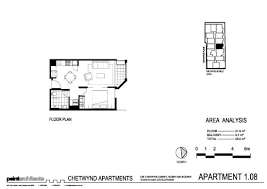 one bedroom apartment plan picture of rnr serviced apartments