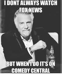 Central Meme - idontalways watch foxnews but when idoits on comedy central meme