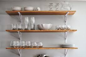 kitchen rack designs kitchen appealing wooden material wall mounted open shelving for