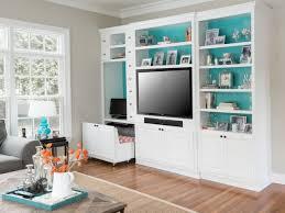 Media Armoires Living Room Back Of Shelves Painted Blue Blue Media Cabinet White
