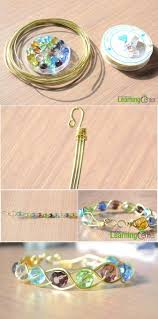 make bead bracelet wire images Design your own wire jewelry how to make a 3 strand braided wire jpg