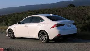 white lexus is 250 2014 2015 lexus is 350 f sport review with video
