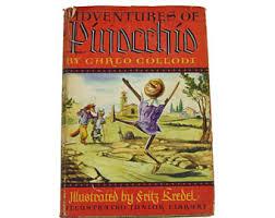 1946 pinocchio book etsy