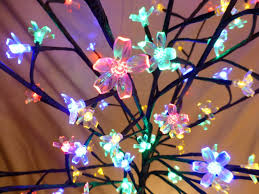 5ft large multi coloured artificial christmas tree indoor outdoor