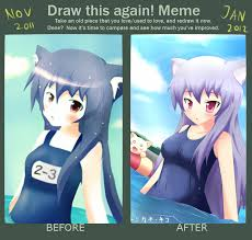 Meme Neko - improvement meme swimming by kane neko on deviantart