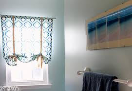 L Shades Diy Curtains Look For Less Challenge Diy Ribbon Stunning