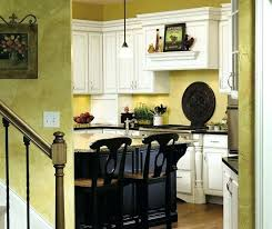 Distressed Black Kitchen Island Pictures Of White Kitchen Cabinets With Black Island Nantucket