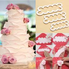 aliexpress com buy 3d rose flower fondant cake chocolate wedding