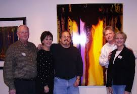bob and sandy from gallerie matisse in lake geneva wisconsin my newest gallery bob and sandy made a special trip to kansas city for my show